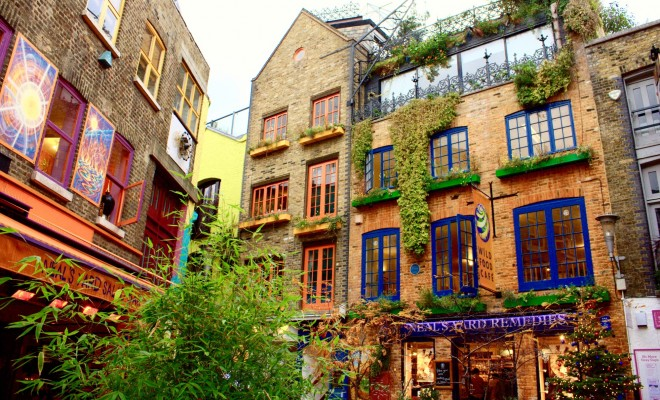 Colourful Places in London
