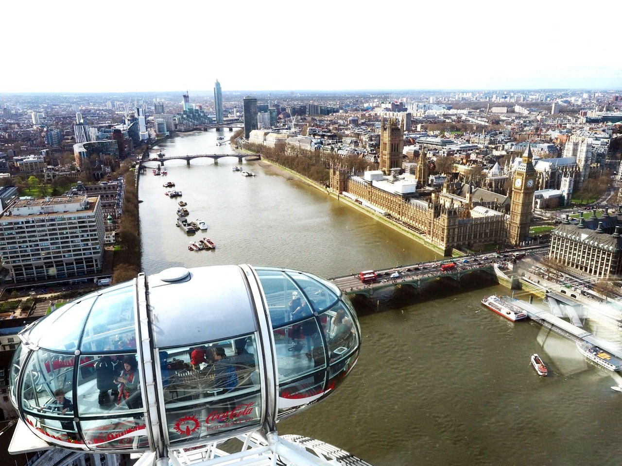 The Stunning Amp Unobstructed View From The London Eye