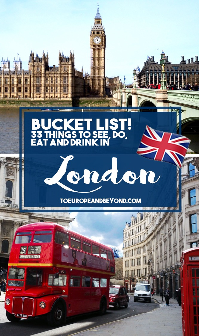 A list of things to do in London suggested by an ex-Londoner and overall Britophile. From castles to afternoon teas, from pubs to museums. Enjoy London!