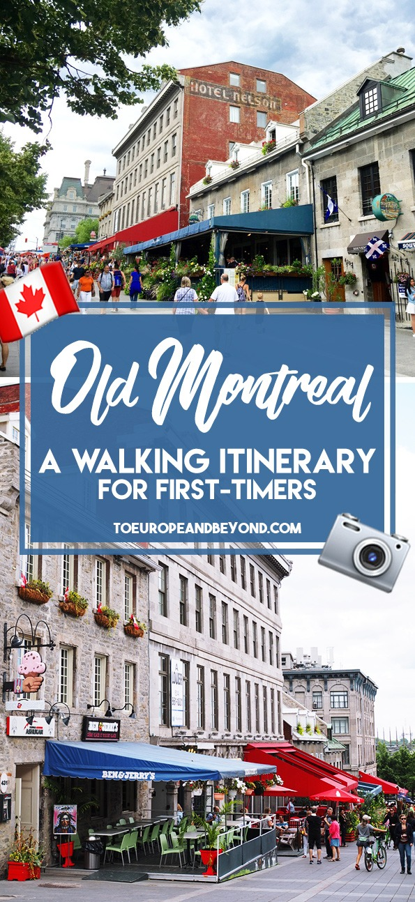 A list of the best things to do in Old Montreal for first timers. Make sure to follow this itinerary to get the most out of your excursion.  #TravelBlogger #Montreal #CanadaTravel