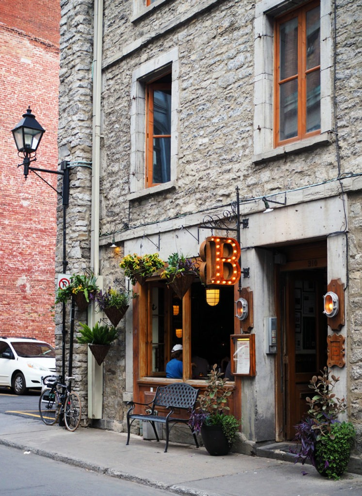 Facades of Old Montreal