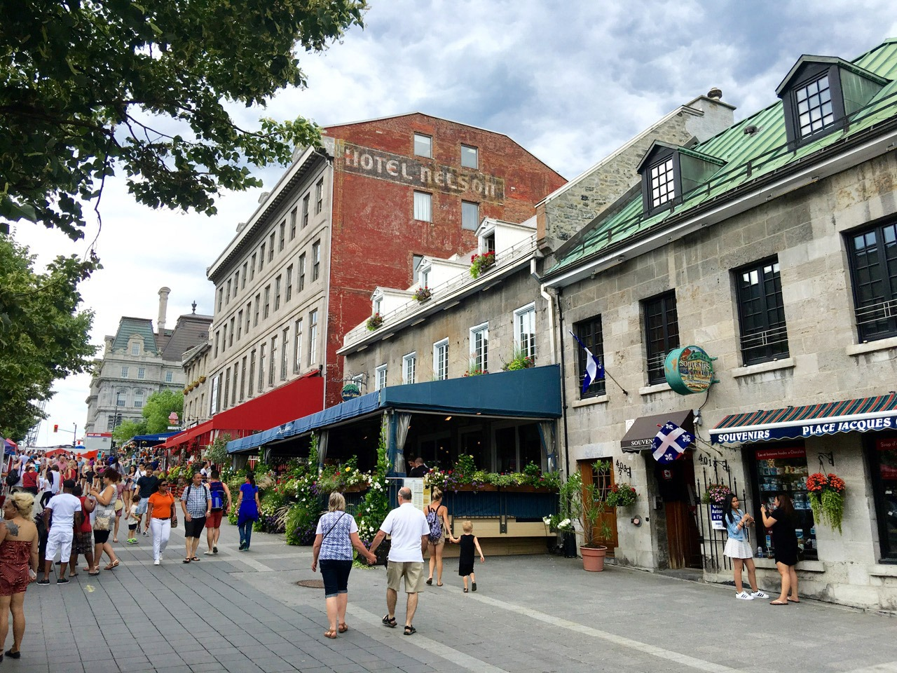 Old Montreal - Place Jacques-Cartier