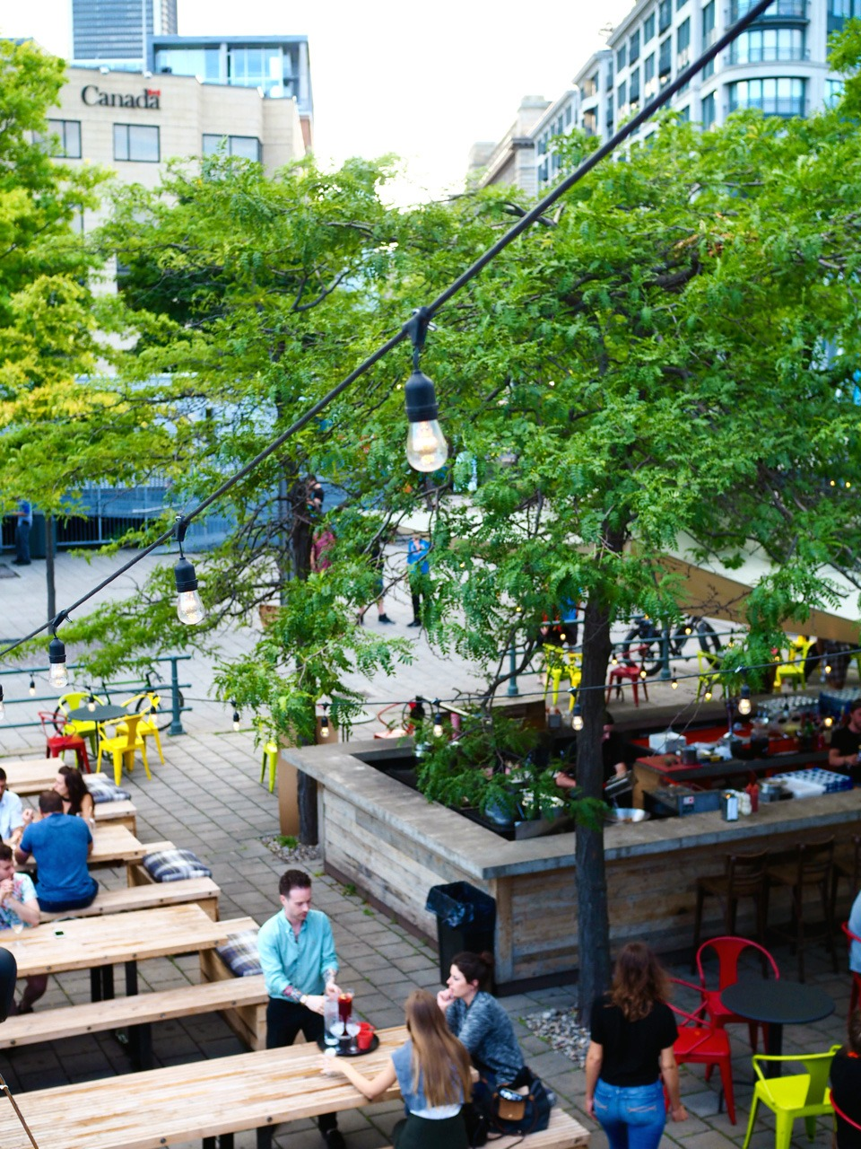 Old Montreal Restaurants -- Marché des Éclusiers -- Where to Eat in Old Montreal